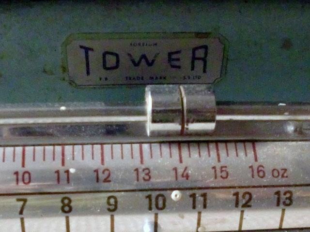 雑貨(キッチン) キッチン用品 TOWER キッチンスケール