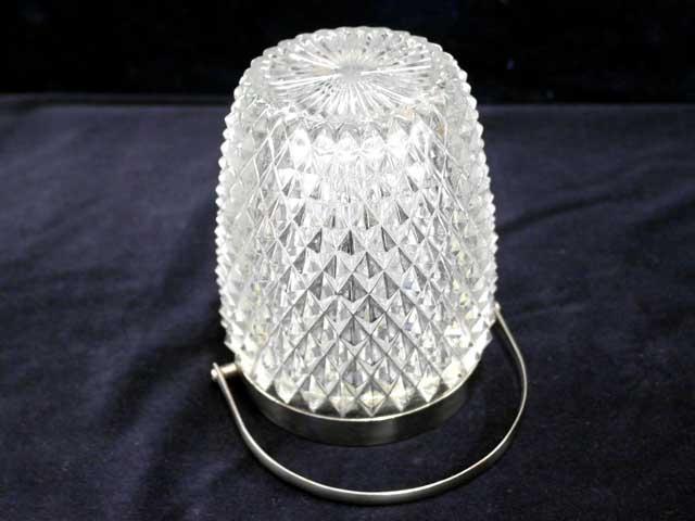 雑貨(パブ・グッズ) テーブル用品 氷入れ カットガラス