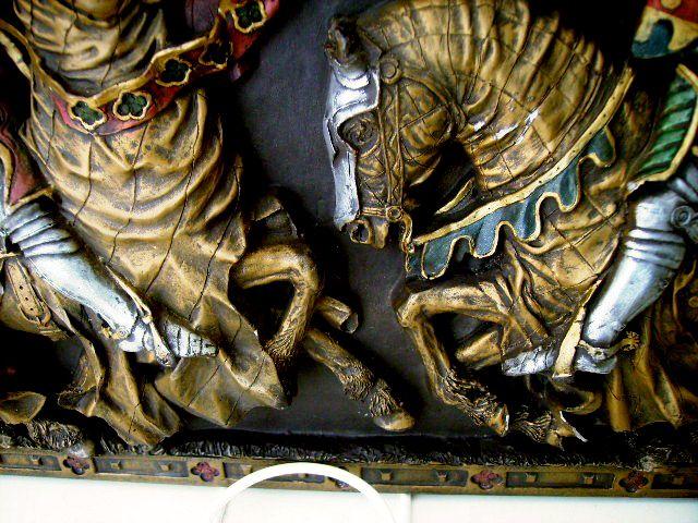 雑貨(パブ・グッズ) その他 壁飾り 騎士