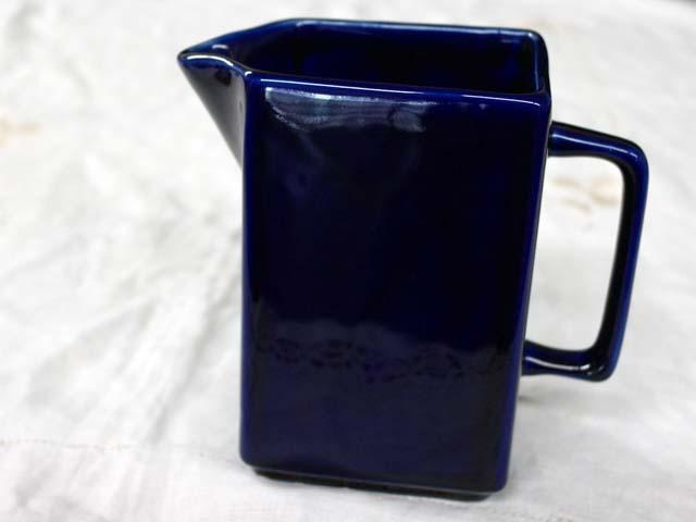 雑貨(キッチン) 雑貨陶器 水差し ブルー