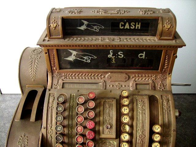 ビンテージ/コレクタブル 機械もの NATIONAL CASH REGISTER(レジスター)
