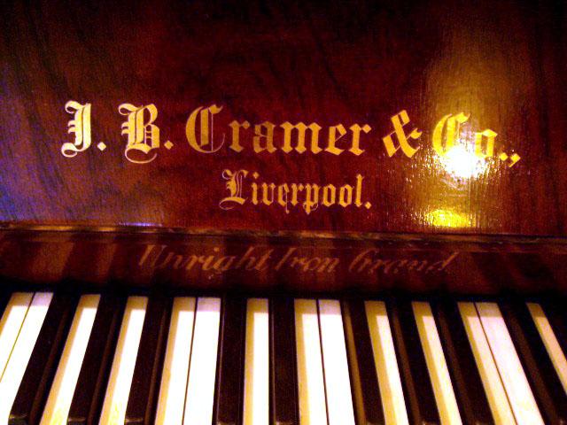 アンティーク 家具 その他 アップライトピアノ L.B. Cramre&Co.  Lwerpool