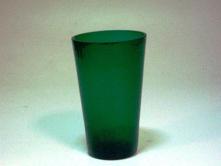 アンティーク ガラス グリーン・ブルー系 グラス グリーン