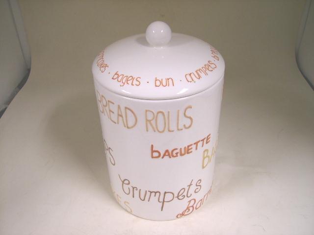 雑貨(キッチン) 雑貨陶器 陶器 パン入れ