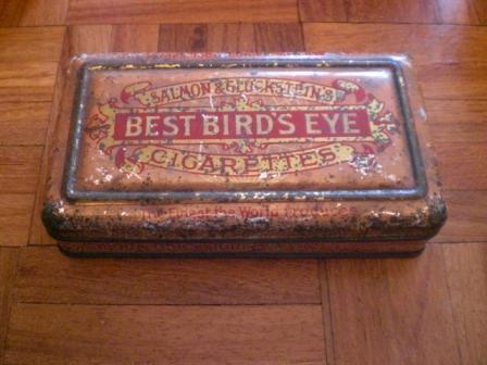 雑貨(ホビー) ティン(缶) BEST BIRD'S EYE CIGARETTES