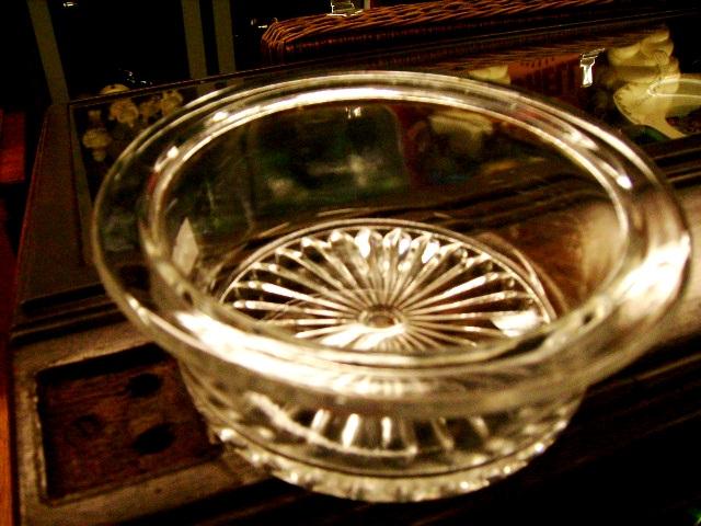 雑貨(キッチン) テーブル&キッチンウェア プレスガラス ボール