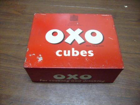 雑貨(ホビー) ティン(缶) OXO CUBES