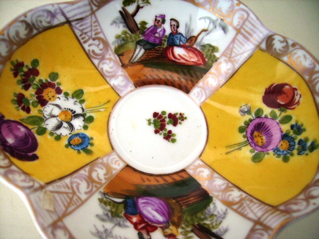 アンティーク 陶磁器 マイセン・ドレスデン コレクション カップ&ソーサー マイセン・ドレスデン 19世紀
