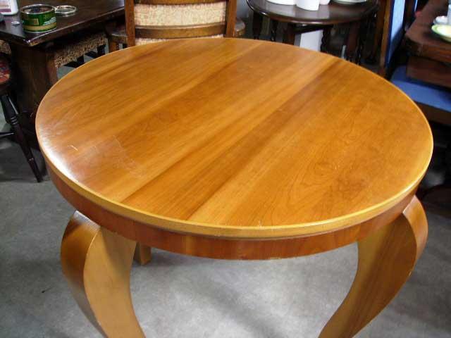 アンティーク 家具 テーブル・ダイニングセット コーヒーテーブル(丸) ミッドセンチュリー