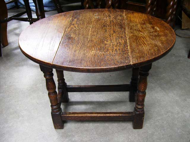 アンティーク 家具 テーブル・ダイニングセット バタフライ・テーブル小