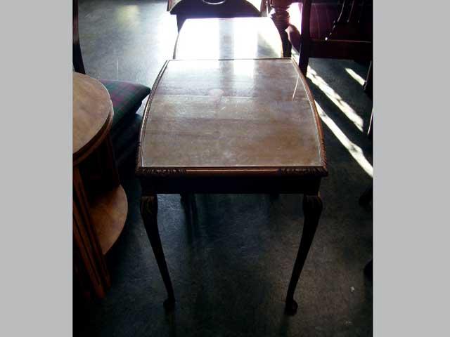 アンティーク 家具 テーブル・ダイニングセット ネスト・テーブル(ガラス天板)