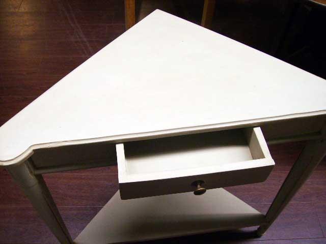 アンティーク 家具 テーブル・ダイニングセット コーナー・テーブル(ペイント)