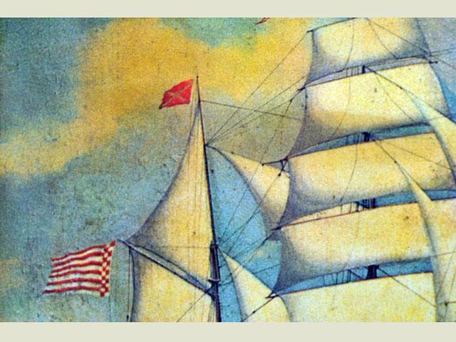 雑貨(ホビー) 絵・額入り品 額 帆船