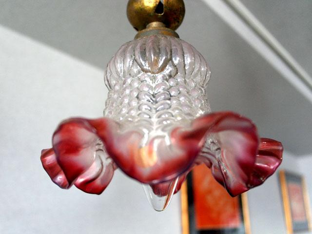 アンティーク 照明 シャンデリア・ハンギングランプ 3灯 シャンデリア (338・339・3212 シェード付き)