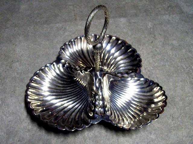 アンティーク その他 銀・銅製品ほか シルバープレート シェル
