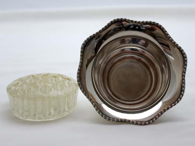 アンティーク その他 銀・銅製品ほか バーズ(花器)(アレンジメント用) シルバープレート