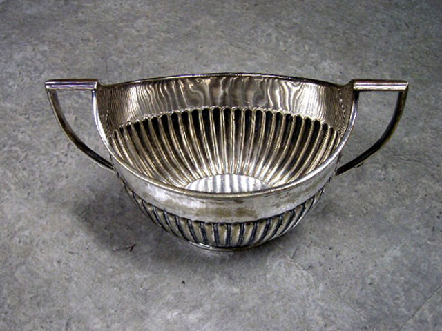 アンティーク その他 銀・銅製品ほか シルバープレート シュガーポット(小)