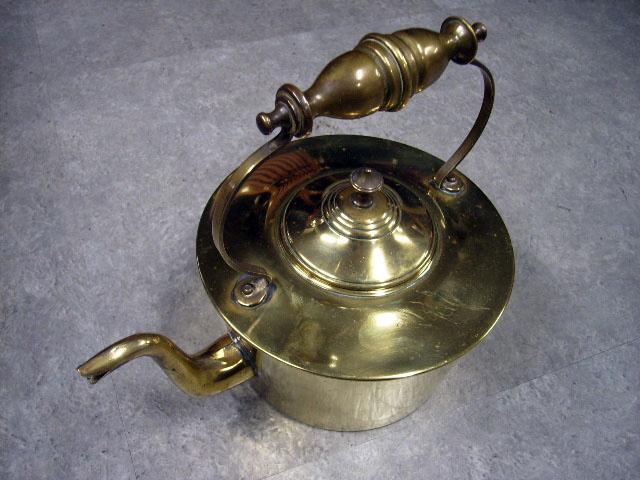 アンティーク その他 銀・銅製品ほか 真鍮 ケトル