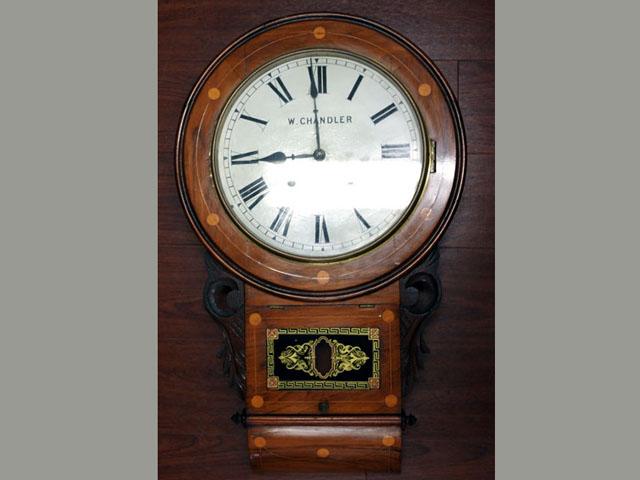 ビンテージ/コレクタブル 時計 掛け時計 W.CHANDLER
