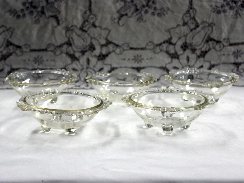 雑貨(キッチン) テーブル&キッチンウェア ガラス器(フルーツボウル 5個セット)