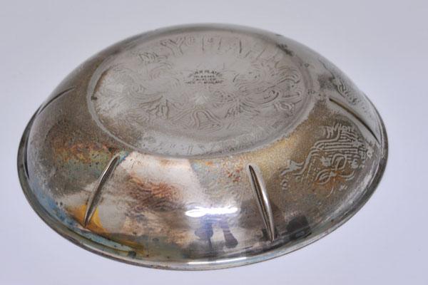 アンティーク その他 銀・銅製品ほか シルバープレート トレイ