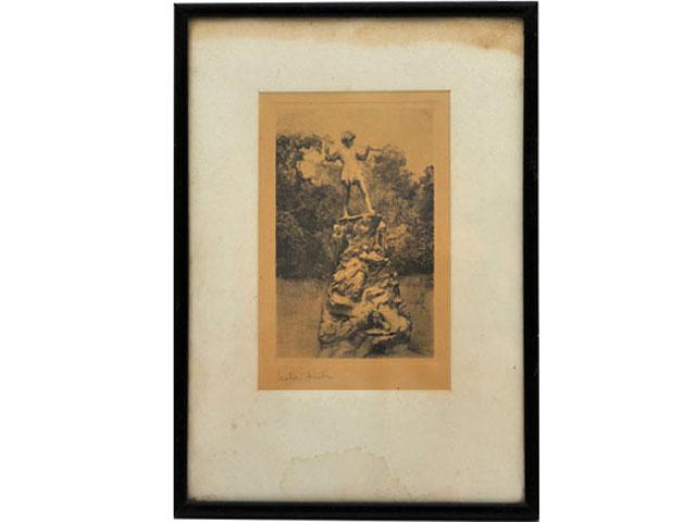 雑貨(ホビー) 絵・額入り品 絵 銅版画