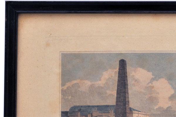 雑貨(ホビー) 絵・額入り品 絵 古ロンドン風景(2)