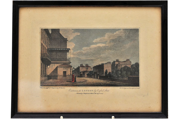 絵 古ロンドン風景(3) 雑貨(ホビー) 絵・額入り品