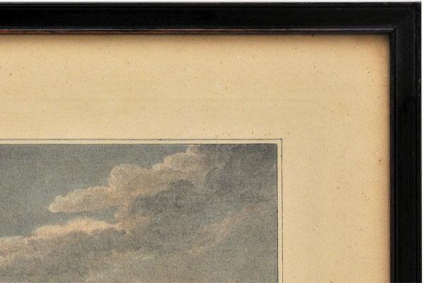 雑貨(ホビー) 絵・額入り品 絵 古ロンドン風景(3)