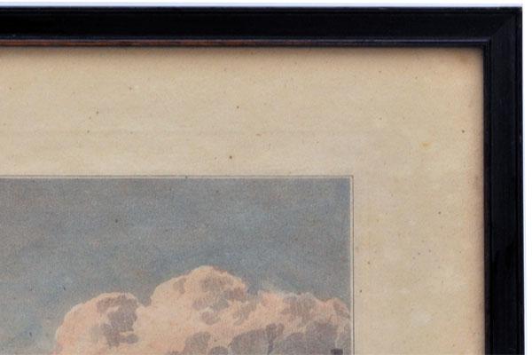 雑貨(ホビー) 絵・額入り品 絵 古ロンドン風景(4)