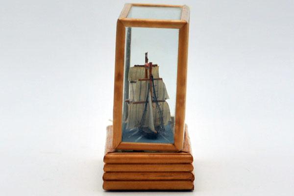 雑貨(ホビー) 絵・額入り品 船の置物