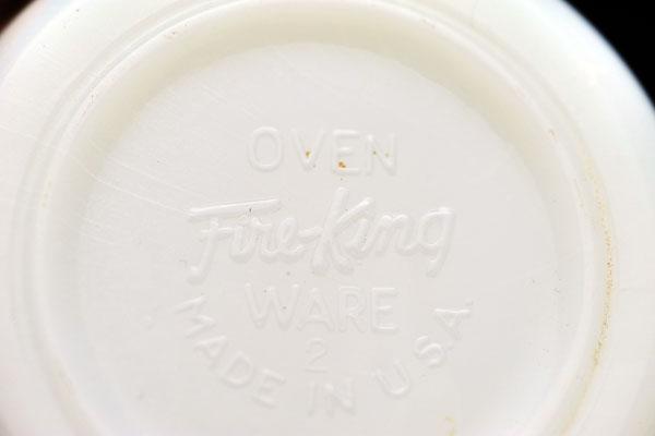 雑貨(キッチン) テーブル&キッチンウェア ファイヤーキング(Fire-King) ミルクポット