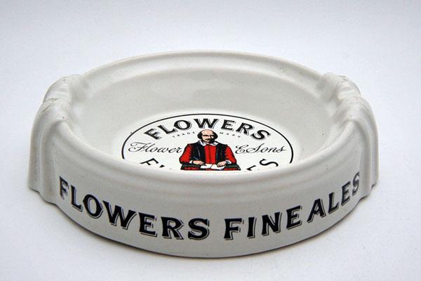 雑貨(パブ・グッズ) 灰皿 灰皿 (Flower's Fine Ales)