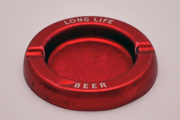 雑貨(パブ・グッズ) 灰皿 灰皿 (Long Life Beer)