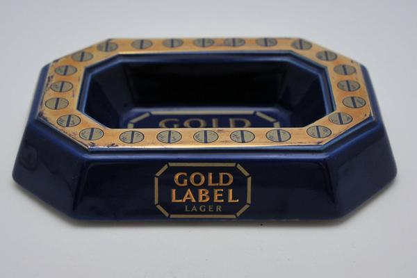 雑貨(パブ・グッズ) 灰皿 灰皿 (Gold Label Beer)