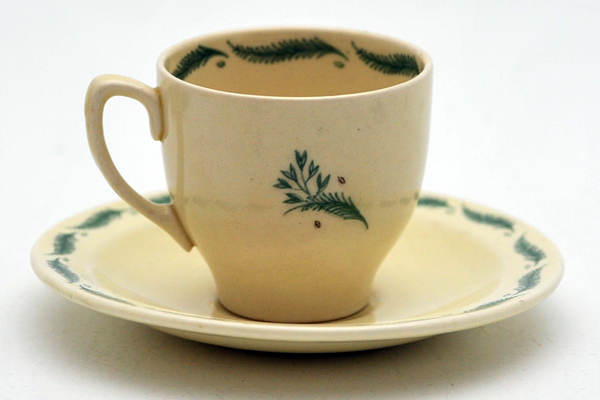 アンティーク 陶磁器 スージー クーパー スージークーパー(Susie Cooper)タイガーリリー コーヒーセット