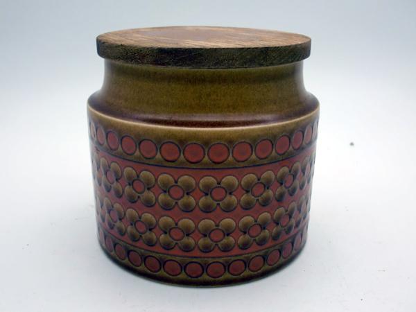 雑貨(キッチン) 雑貨陶器 ホーンジー (Hornsea) キャニスター Saffron
