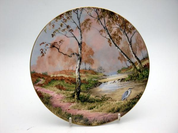 ロイヤルドルトン(Royal Doulton) 飾り皿 Elizabeth Gray Murmur of Waters 飾り用プレート