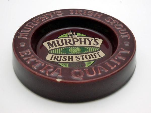 雑貨(パブ・グッズ) 灰皿 灰皿 (Murphy's Irish Stout マルーン)