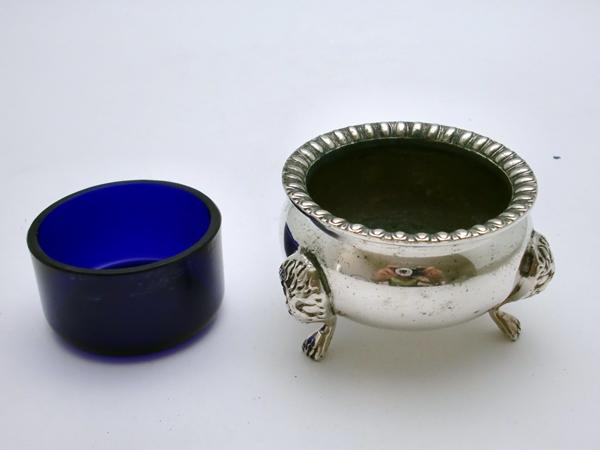 アンティーク その他 銀・銅製品ほか シルバー ソルト&マスタード