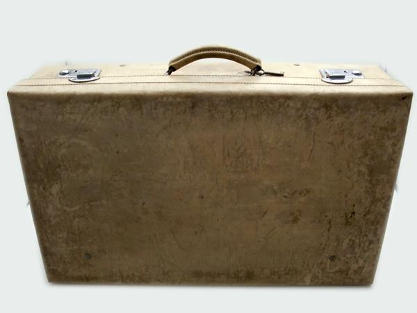 雑貨(道具・ガジェット) トランク/ピクニック トランクケース(ホワイト)