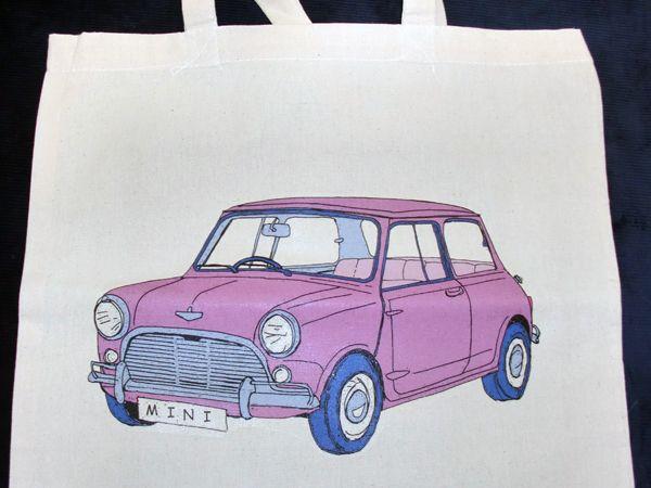 雑貨(キッチン) エコバッグ トートバッグ ミニ ピンク