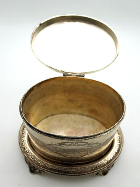 アンティーク その他 銀・銅製品ほか シルバー コンテナ