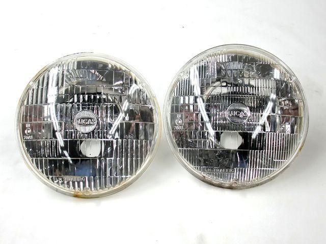 シールドビーム Lucas ペア ミニ用 中古 英国車・MINIのレアパーツ ライト類