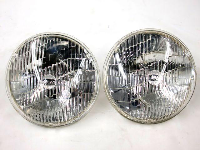 シールドビーム Lucas ペア バンデンプラス用 中古 英国車・MINIのレアパーツ ライト類