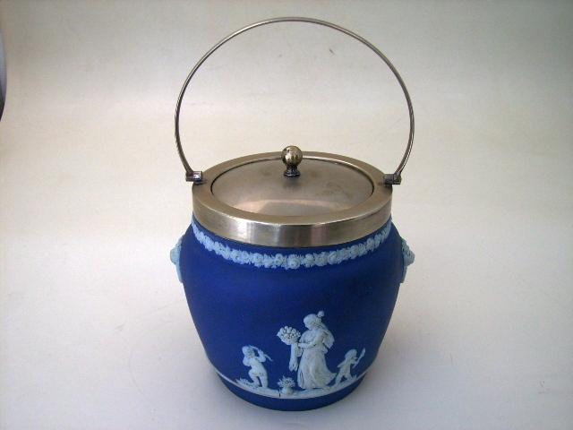 アンティーク 陶磁器 その他 クッキー入れ カメオ