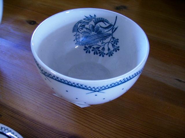 雑貨(キッチン) 雑貨陶器 グレイズ ポタリー社 デミ カップ&ソーサー5客+ミルクジャー+シュガーボール+ポット