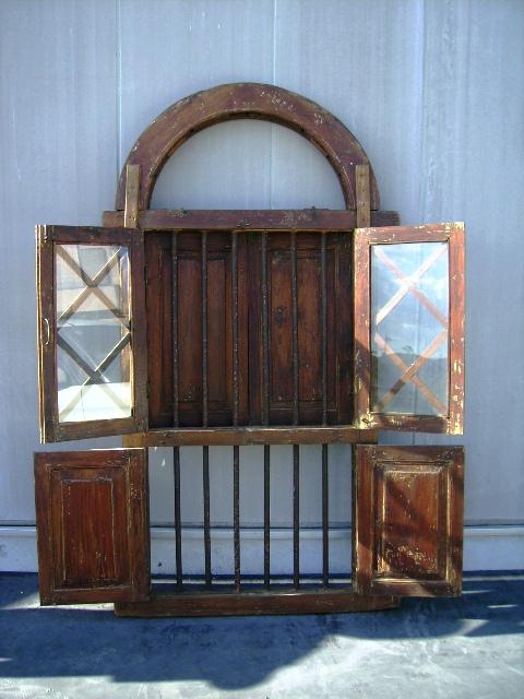 ウィンドウ ステンド入り,アンティーク 建材,ドア