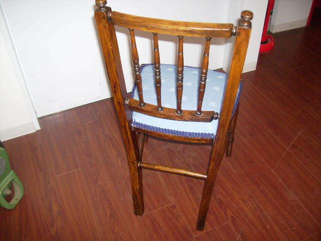 チェアー(小)  張替済み,アンティーク 家具,チェア・ソファー