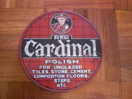 雑貨(ホビー) ティン(缶) POLISH RED CARDINAL